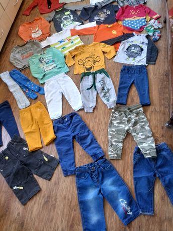 Лот брендовой одежды, большой пакет вещей на мальчика