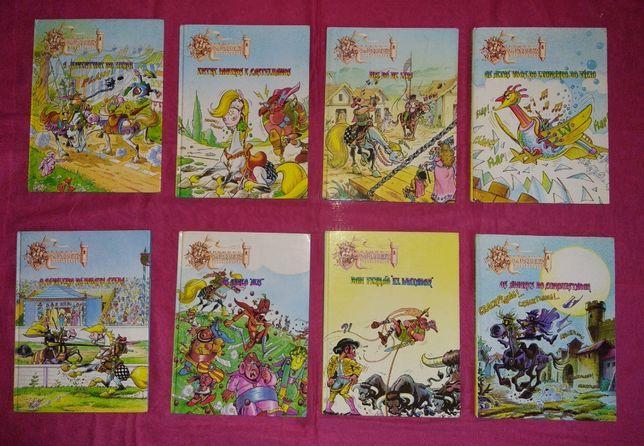 "Livros ""Don Fonsarilho & Santa Pança"""
