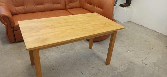 Stół drewniany 135x75 sosna Wektor. Ługòw
