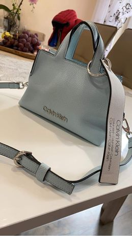 Nowa torebka Calvin Klein Baby Blue