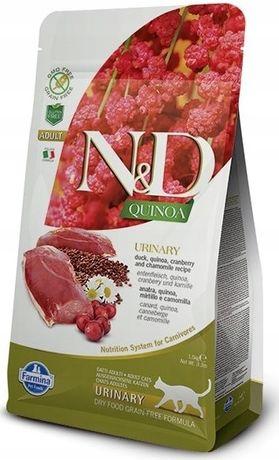 ND Cat Quinoa Urinary Duck Kaczka 5kg -6971