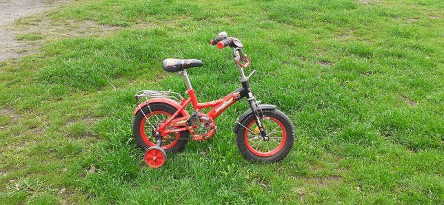 """Детский велосипед Тачки Молния Мак Квин. Колеса 12"""". От 3 до 5 лет."""