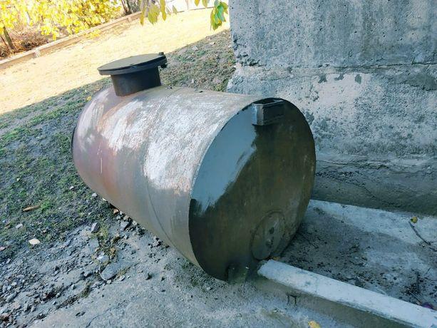 Бочка металлическая бак цистерна ёмкость для воды