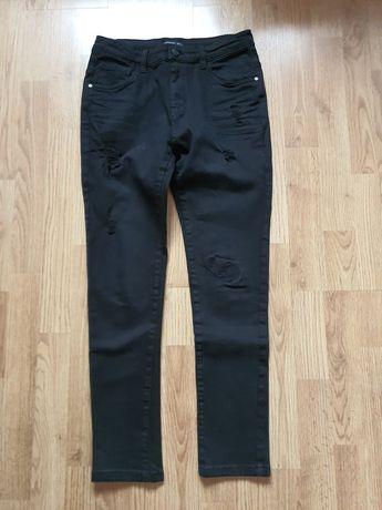 Reserved spodnie rozmiar 152 kolor czarny