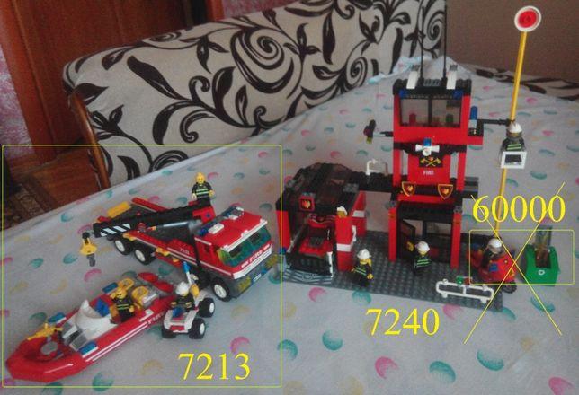 Lego (лего) Fire Station (7240+7213), 7743 (отдельно)