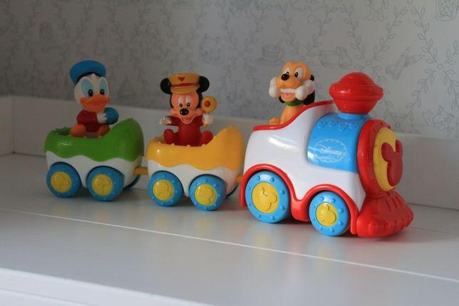 Kolejka, pociąg clementoni Miki Disney baby