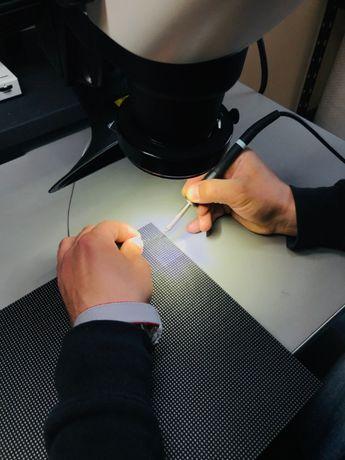Naprawa, stacjonarny serwis – ekrany LED. Wymiana diody P1. Poznań.