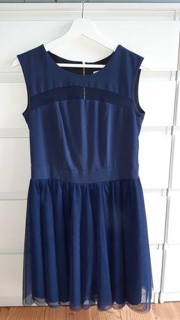 sukienka tiulowa mini