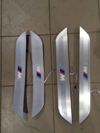 Накладки на пороги М BMW G11