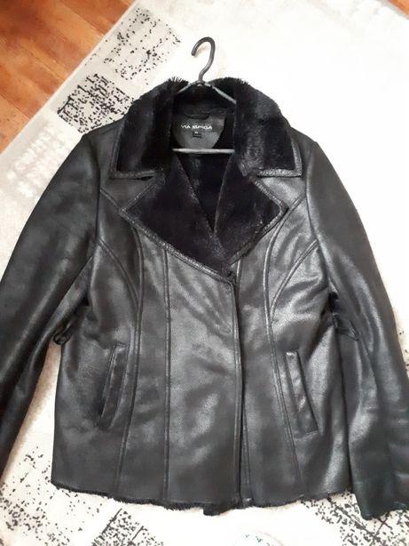 Курточка з екозамші