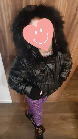 Kurtka jesienno/zimowa dla dziewczynki  wieku 8/9 lat rozmiar S