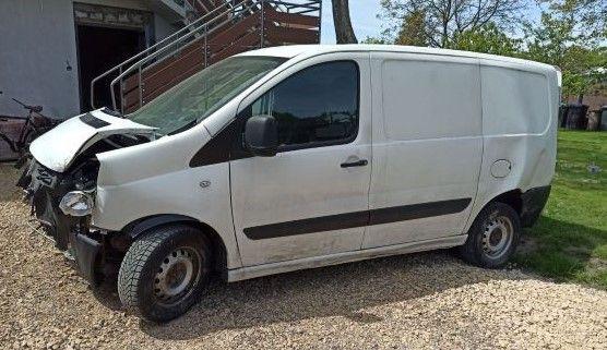 Fiat Scudo 2010r uszkodzony na części