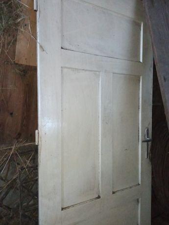 Stare drzwi lite drewno 89cm x 190cm