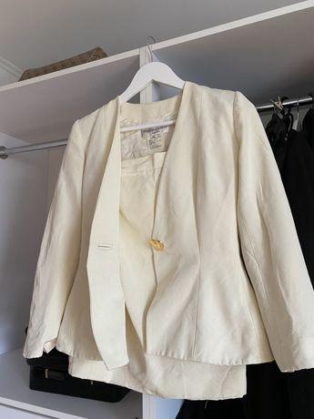 Пиджак и юбка костюм YSL Yves Saint Laurent