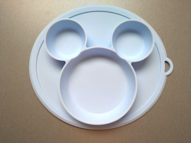 Силиконовая тарелка