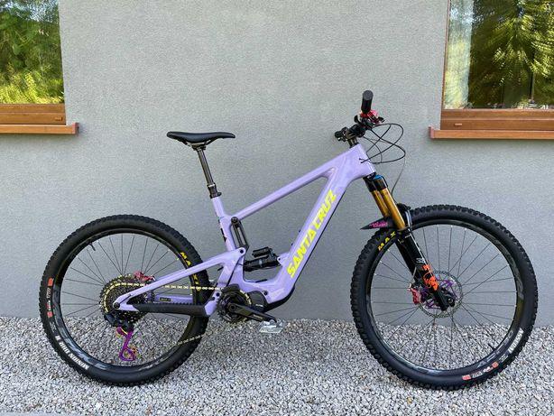 Santa Cruz Bullit 2021 xl EP8 Fox 38 Kashima Hope Tech Garbaruk e-bike