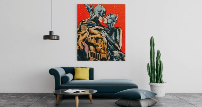 Картина постер бэтмен