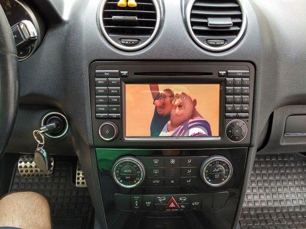 Auto Rádio Mercedes ML W164 GL X164 e R W251 GPS DVD Bluetooth Android