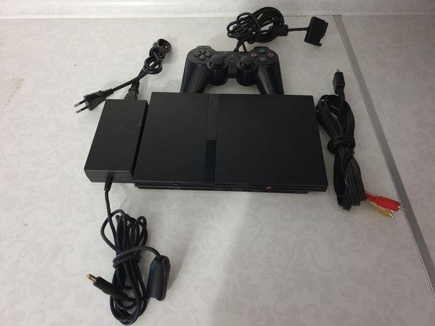 Playstation2 slim + władca pierścieni