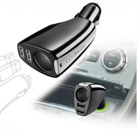 Szybka ŁADOWARKA Samochodowa USB x2 + 12/24V Cellular line na 12/24V