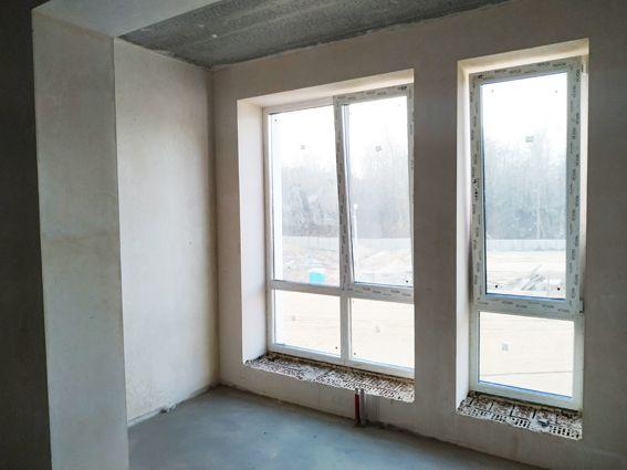 Готовая квартира с ДОКУМЕНТАМИ в 3х этажном доме. Панорамные окна. Лес