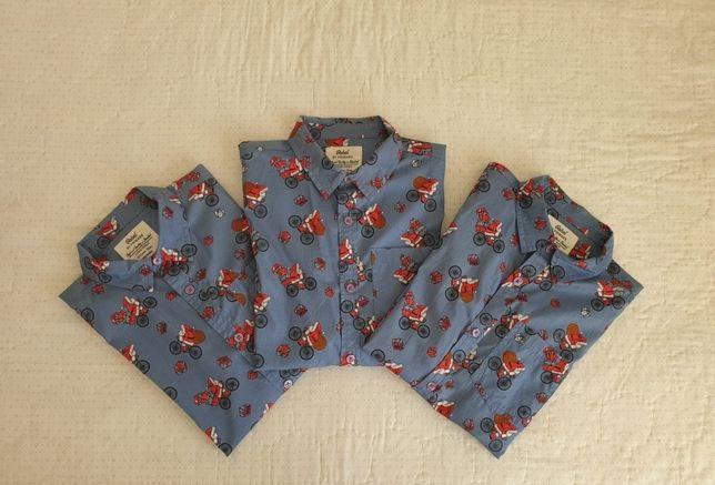 Camisas de criança natal - brothers match