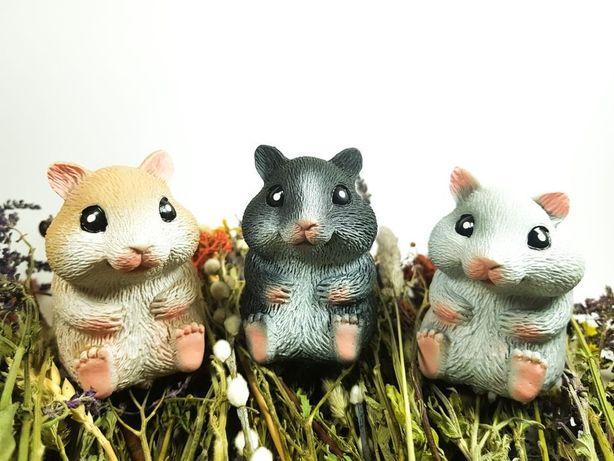 Животные тянучки хомяк, ёж, собака, мишка, панда, пингвин