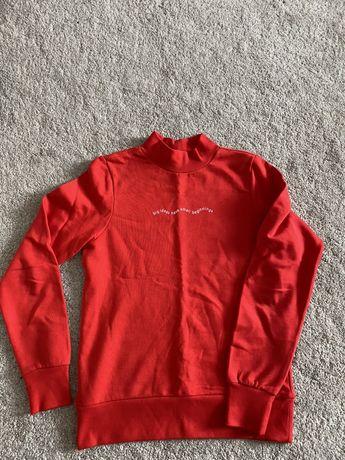 Czerwona bluza reserved xs jak nowa