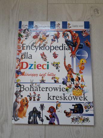 """""""Encyklopedia dla dzieci-bohaterowie kreskówek"""""""