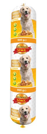 Karma dla psa Kiełbasa MK ANIMALS 900 g