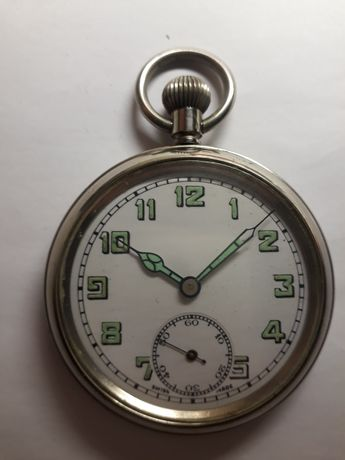 Часы швейцарские карманные ,15 камней