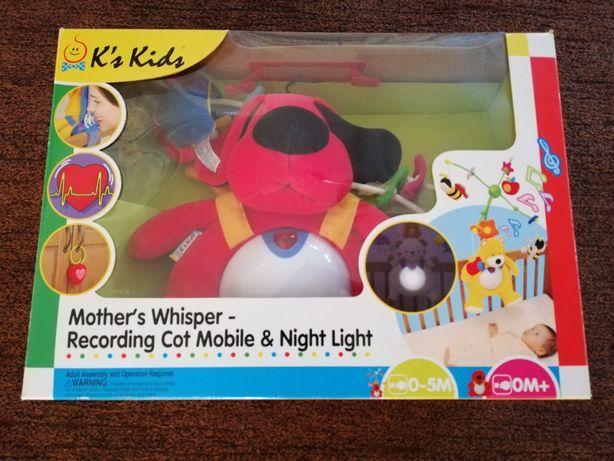 Helicóptero Berço Bebé c/Música e Luz de Presença