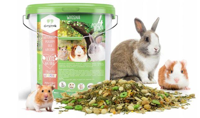 Karma dla królika, chomika, świnki, myszki, szczura 5L