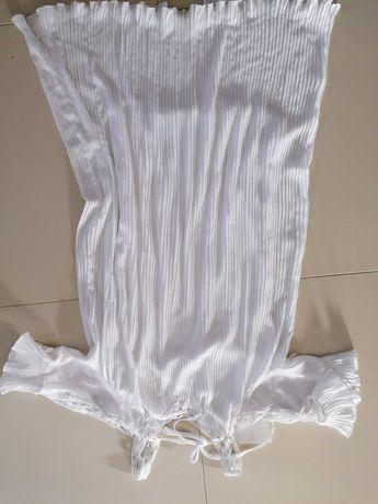 Nowa sukienka z metka biała uniwersalna