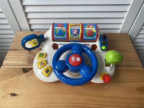 VTech, zabawka interaktywna Kierownica małego rajdowca ENGLISH
