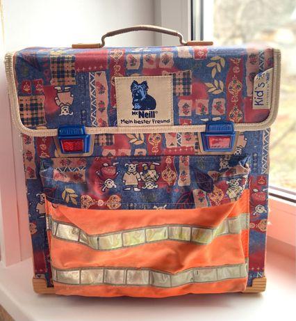 Каркасный детский винтажный рюкзак, школьный ранец Mc Neill