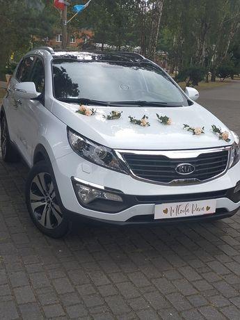 Auto do ślubu SUV