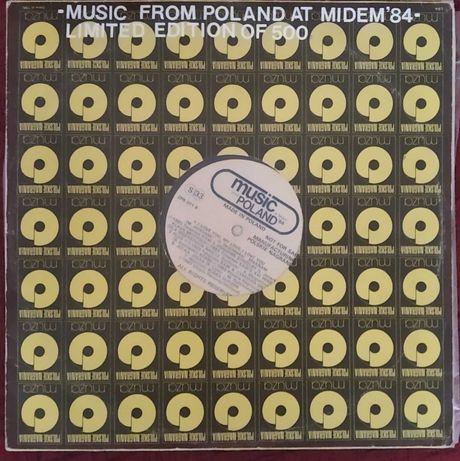 Płyta winylowa - Music From Poland Midem'84 - Not For Sale - 2 lp