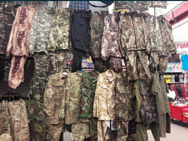Форма Камуфляж ДЕМИСЕЗОН армейский военный с липучками под шеврон