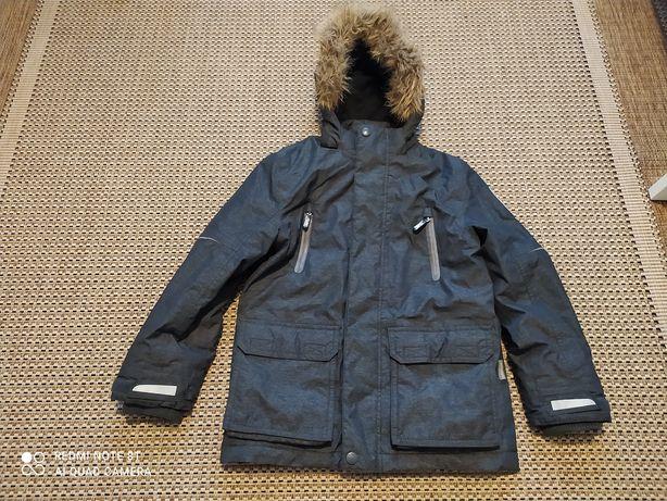 Kurtka zimowa dla chlopca na 134 cm wiek 7-8 lat