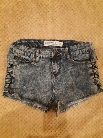 Шорты джинсовые варенки