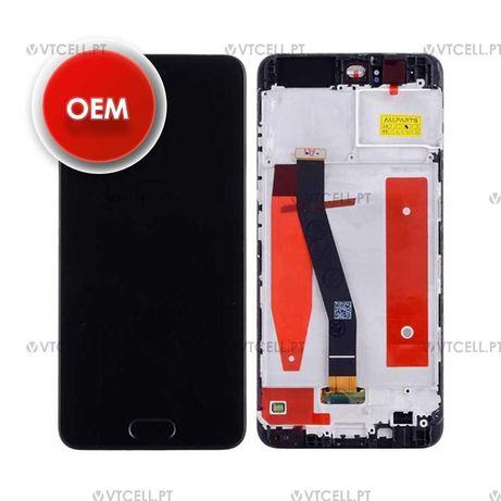 Ecra LCD + Touch com Frame para Huawei P10 - Preto (OEM)