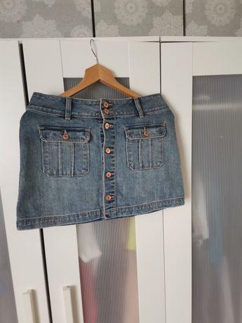 Spódnica jeans Abercrombie & Fitch M