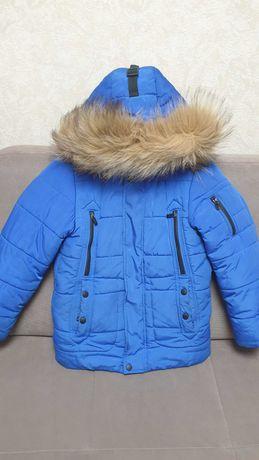 Куртка зимняя 128р