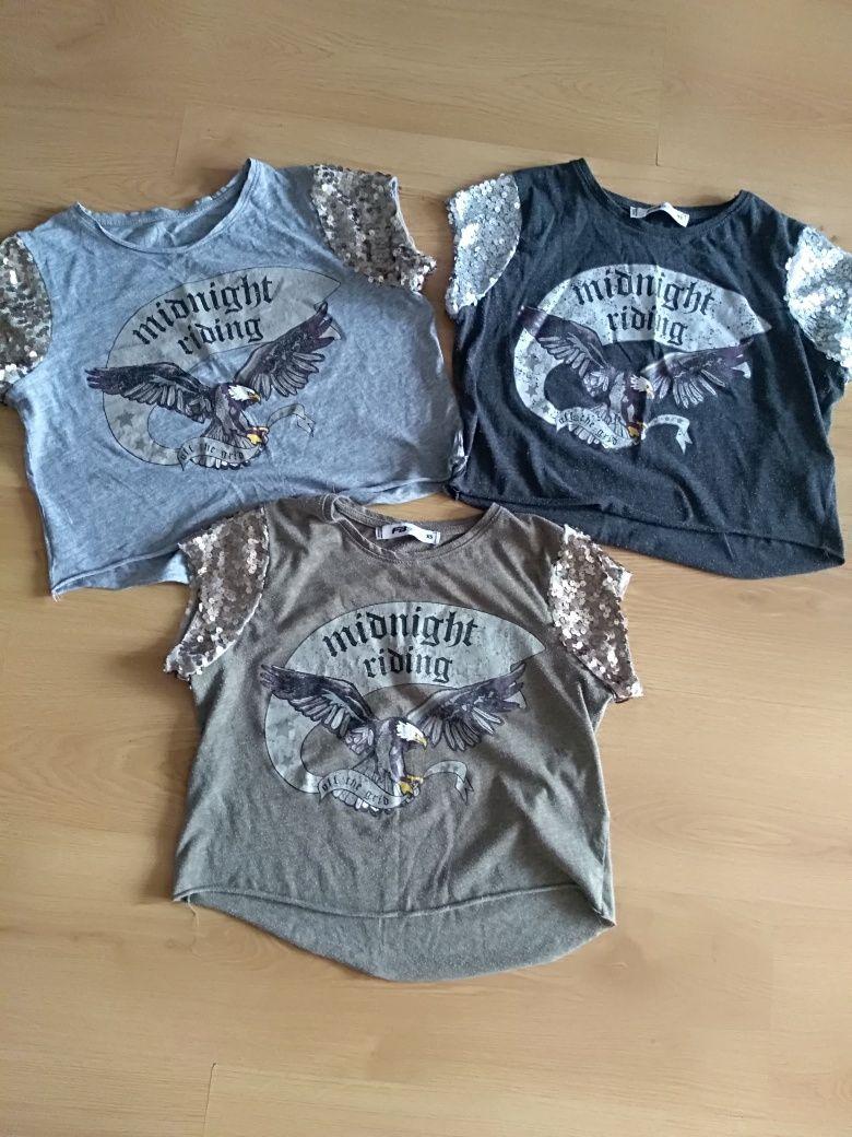 SINSAY bluzki,koszulki r. XS /S