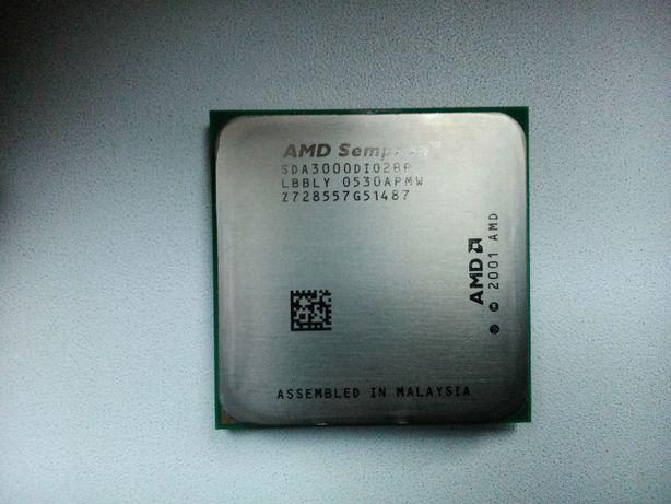 Procesor AMD Sempron 3000 + Wentylator AVC 50x50x 12v