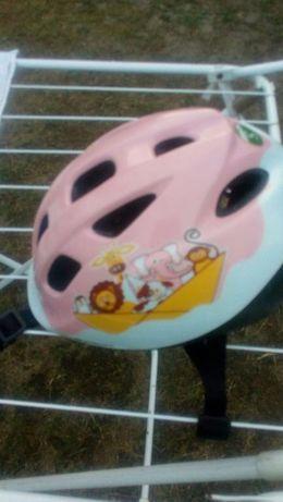 Kask dzieciecy na wrotki lub rowerek