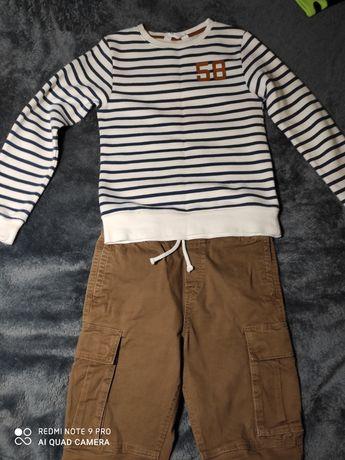 Bluzka/spodnie  H&M roz. 140/146