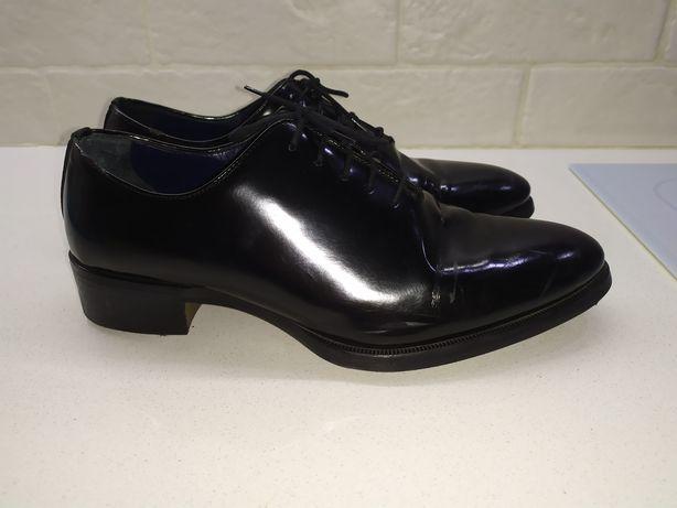Buty wizytowe, eleganckie czarne młodzieżowe męskie 40 ZARA MAN