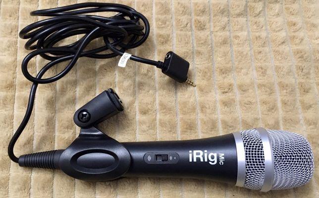 iRig mic мікрофон для телефона і іншого
